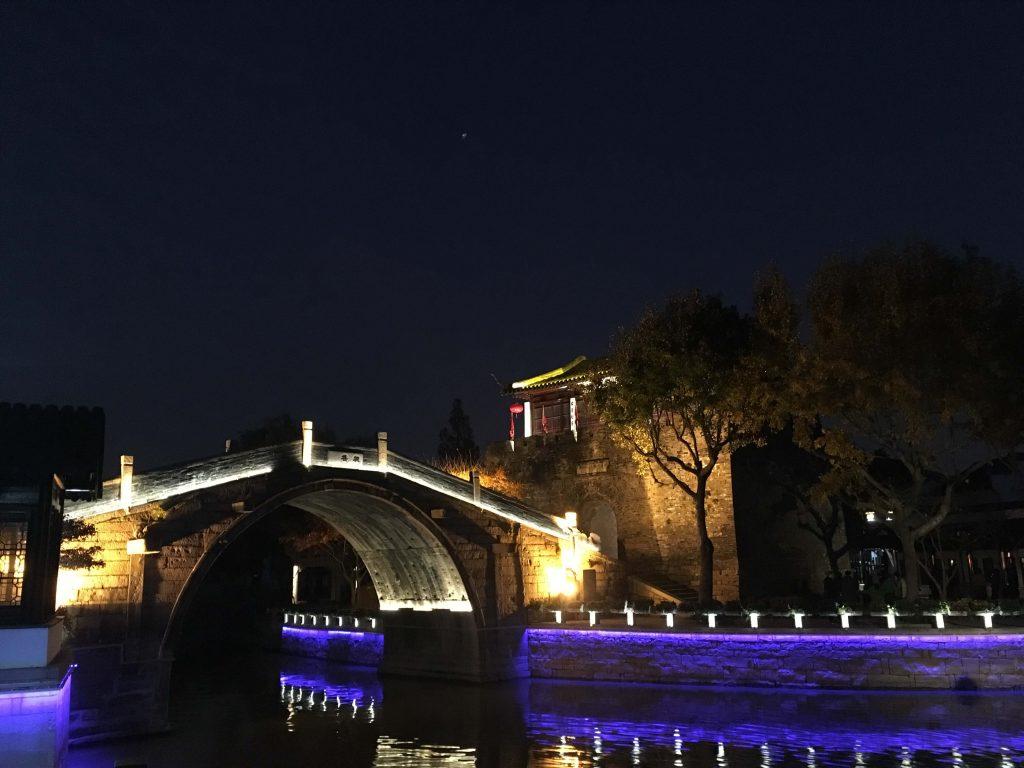 一個人旅行蘇州楓橋
