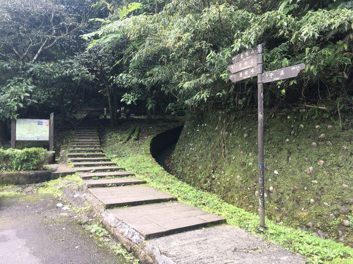 孝子山步道登山口