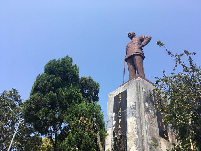 忠勇山山頂蔣公銅像