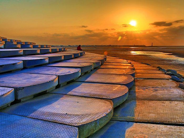 新竹一日遊 一個人去魚鱗天梯看夕陽