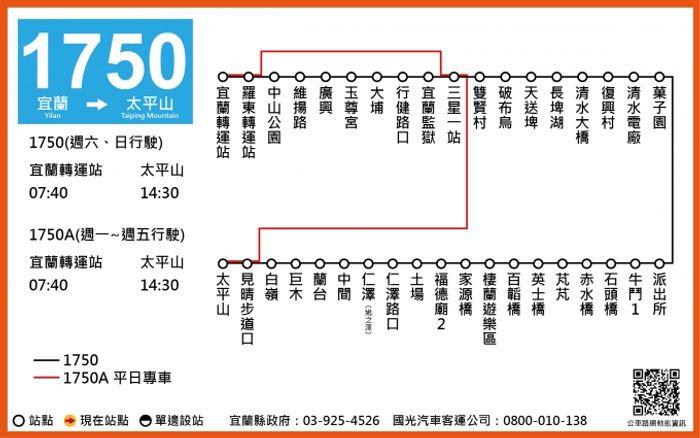 太平山一個人 客運路線圖