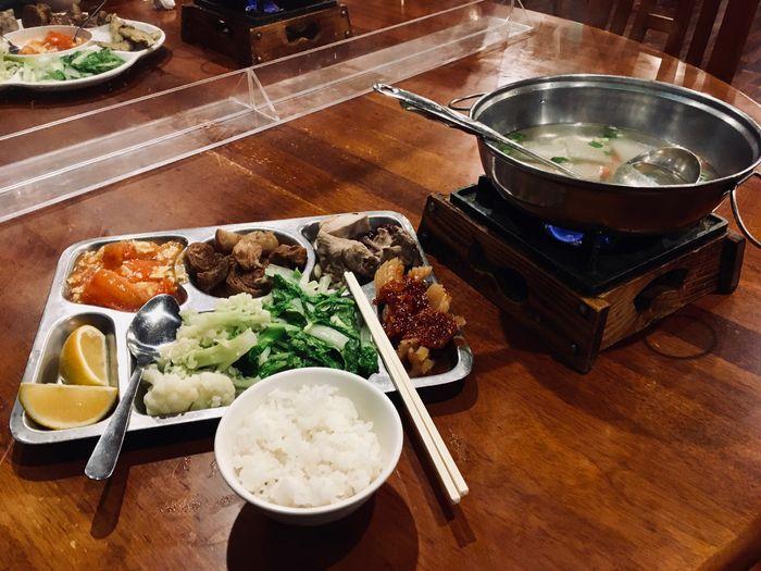 太平山一個人 餐廳